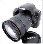 オークション代行-Canon EOS kiss X3 200mmレンズ KCR005
