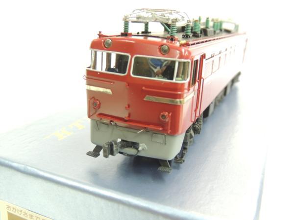 カツミED72交流電気機関車