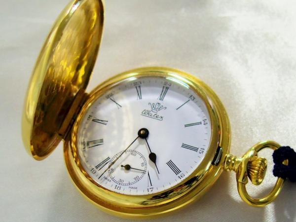 WATEX ワテックス 懐中時計 十六菊 手巻 スイス製