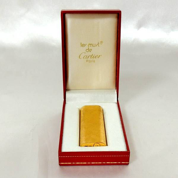 Cartier/カルティエ/ ガスライター/ ゴールド色