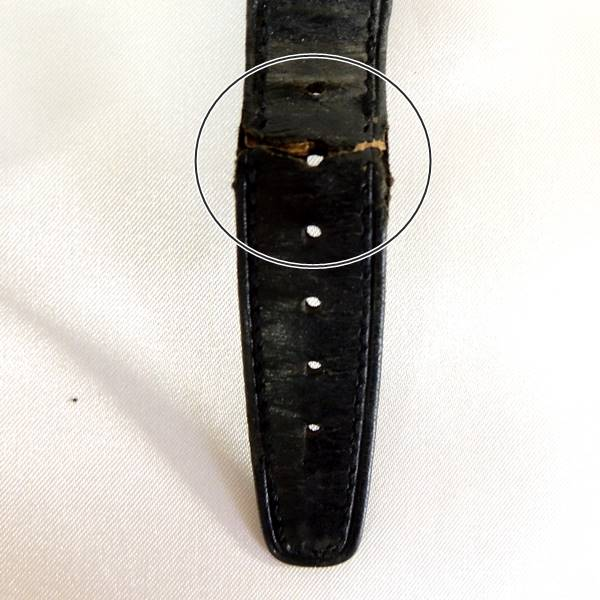 OMEGA/オメガ シーマスター 自動巻 メンズ 腕時計 傷部分
