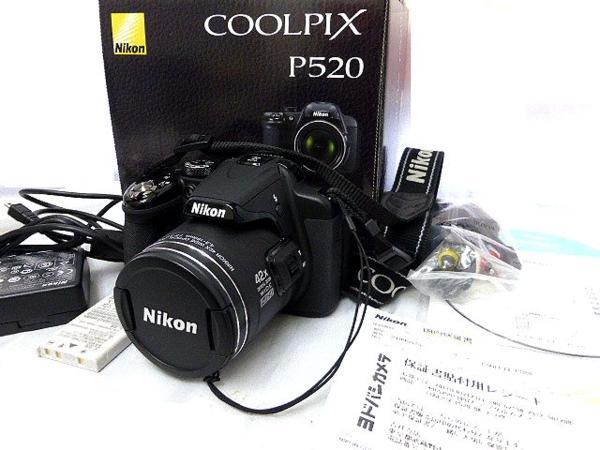 Nikon ニコン COOLPIX クールピクス P520 中古 作動 0214k7k7