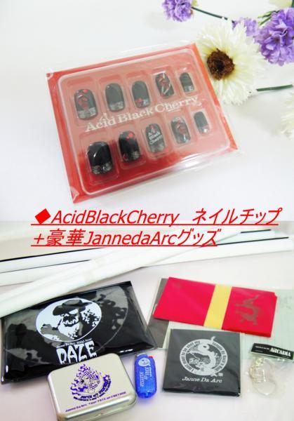 AcidBlackCherry ネイルチップ+豪華JannedaArcグッズ