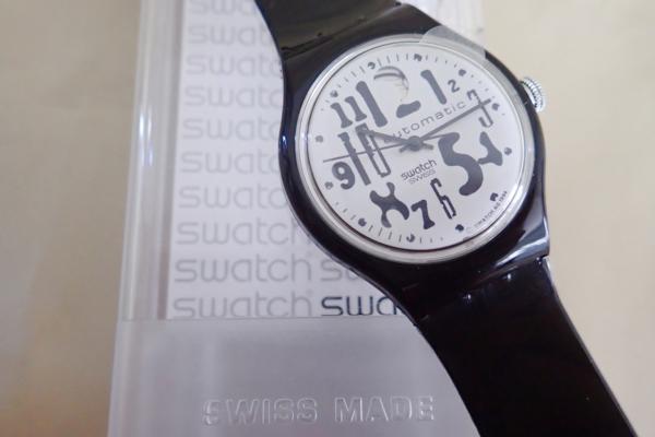 オートマチック Swatch BlackBoard(SAB103) 95年