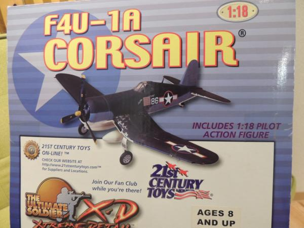 F4U-1A コルセア 1/18 センチュリートイズ 未開封品
