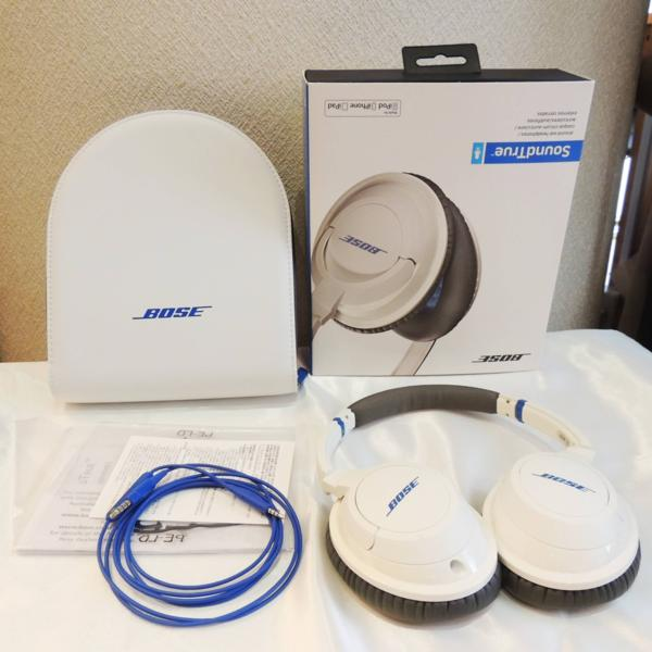 Bose ボーズ Sound True AH WHBose ヘッドホン SoundTrue AE