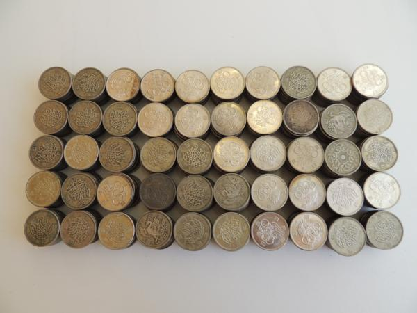 100円銀貨☆東京オリンピック 鳳凰 稲穂