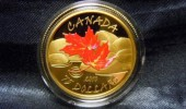 【オークション代行実績】レア金貨★金貨Gold Maple Leaf Coinコインセット