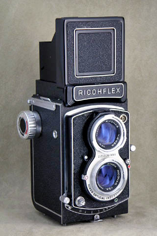二眼レフカメラの草分けリコーフレックスの歴史